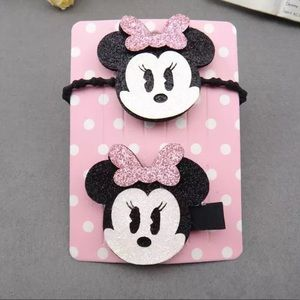 Minnie Mouse handmade hair accessories for kids